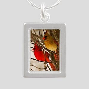 cardinals2poster Silver Portrait Necklace