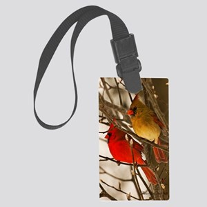 cardinals2poster Large Luggage Tag