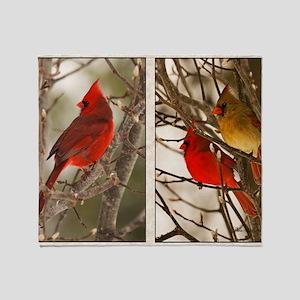 cardinalstwopics Throw Blanket