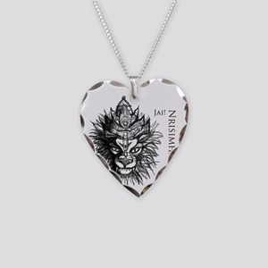 Narasimhadeva_Sketch_cafepres Necklace Heart Charm