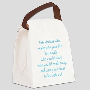 fatedecides3 Canvas Lunch Bag
