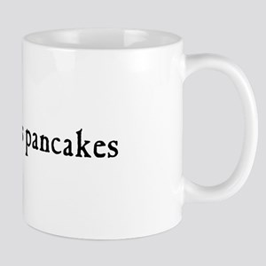 jesus loves pancakes breakfast mug