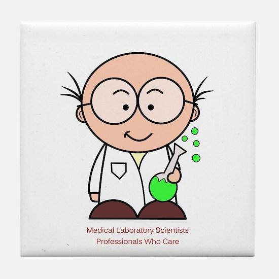 Medical Laboratory Professionals Tile Coaster