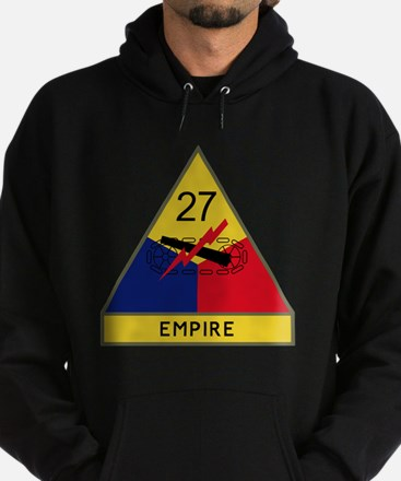 27th Armored Division - Empire Hoodie (dark)