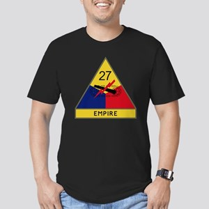 27th Armored Division  Men's Fitted T-Shirt (dark)