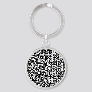 QR-US_Amendment_1 Round Keychain