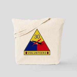 30th Armored Division - Volunteers Tote Bag