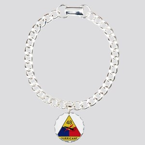 48th Armored Division -  Charm Bracelet, One Charm