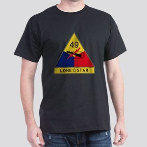 49th Armored Division - Lone Star Dark T-Shirt