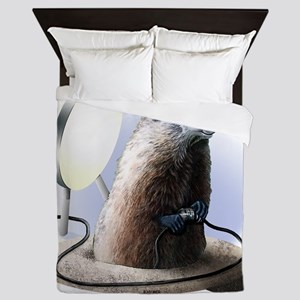 Bad Groundhog Queen Duvet