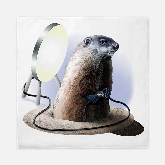 Bad Groundhog Queen Duvet