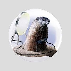 "Bad Groundhog 3.5"" Button"