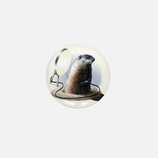 Bad Groundhog Mini Button