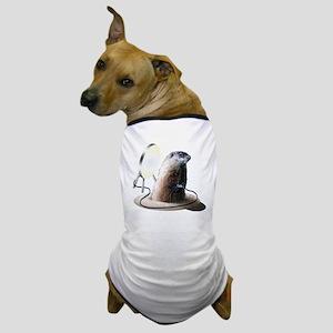 Bad Groundhog Dog T-Shirt