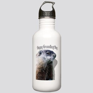 Happy Groundhog Day Stainless Water Bottle 1.0L