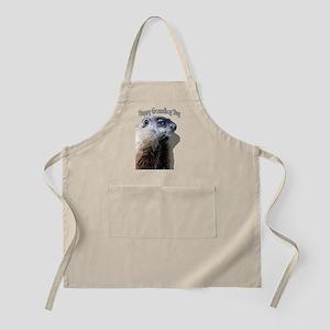 Happy Groundhog Day Apron