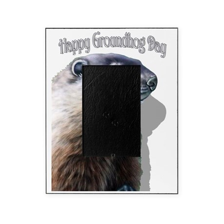 Happy Groundhog Day Picture Frame