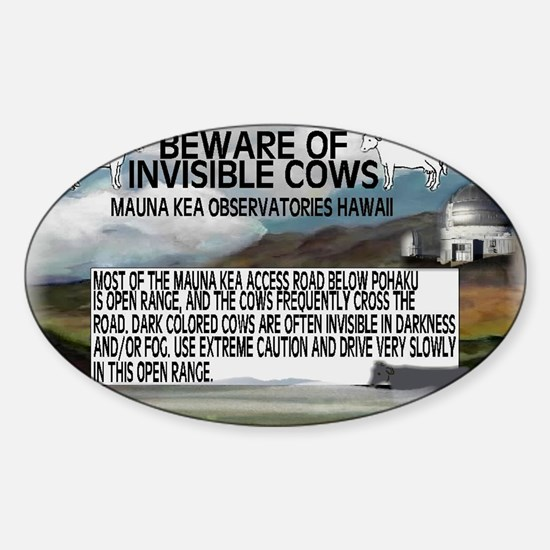 COWS Sticker (Oval)