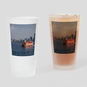 (2) Staten Island Ferry Drinking Glass