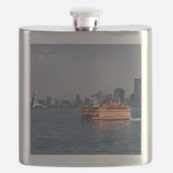 (2) Staten Island Ferry Flask