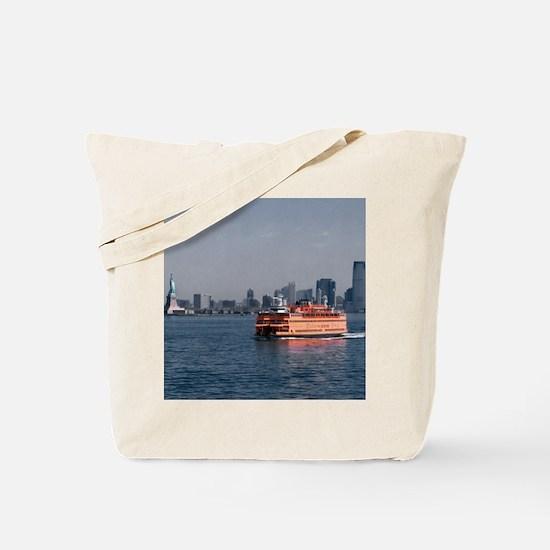 (2) Staten Island Ferry Tote Bag