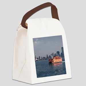 (2) Staten Island Ferry Canvas Lunch Bag