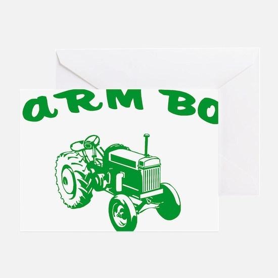 farm boy Greeting Card