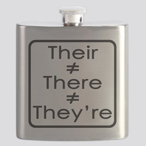 TheirThereTheyre Flask