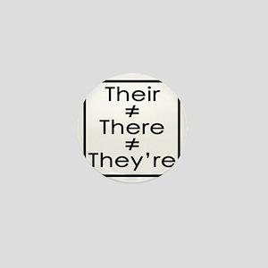 TheirThereTheyre Mini Button
