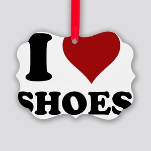 iheartshoes Picture Ornament