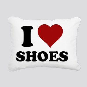 iheartshoes Rectangular Canvas Pillow