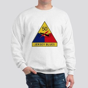 50th Armored Division - Jersey Blues Sweatshirt