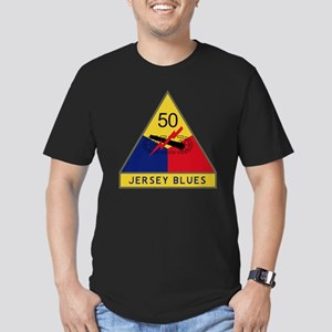 50th Armored Division  Men's Fitted T-Shirt (dark)