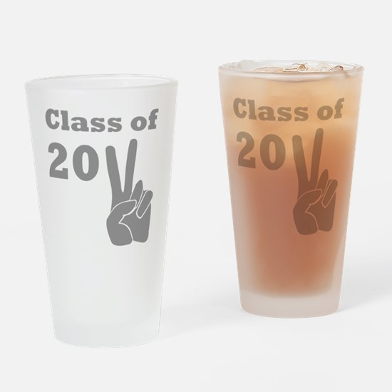 Class of 2011 Victory Grey Drinking Glass