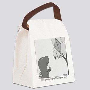 T-Rex Good Times Canvas Lunch Bag