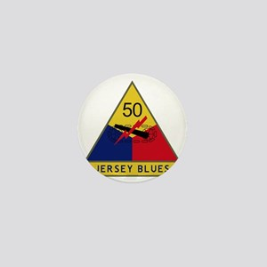 50th Armored Division - Jersey Blues Mini Button