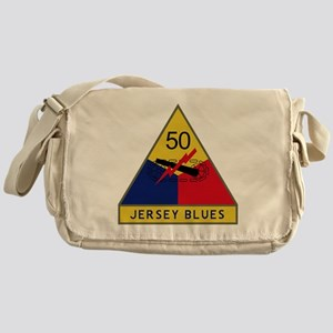 50th Armored Division - Jersey Blues Messenger Bag