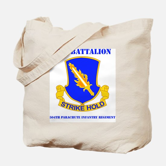 DUI-2-504 PIR RGT WITH TEXT Tote Bag