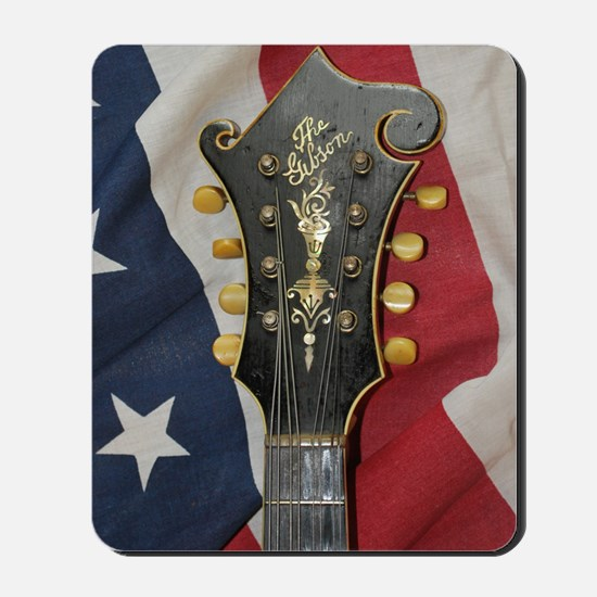 iPhone4_Slider_Gibson_Flag_Distant Mousepad