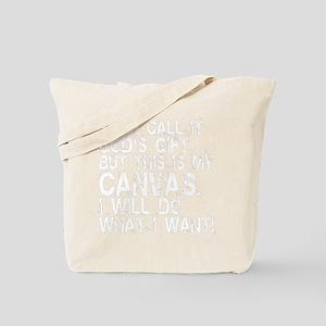 i-will-do-canvas-white Tote Bag
