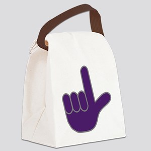 Loser Hand Canvas Lunch Bag