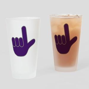 Loser Hand Drinking Glass