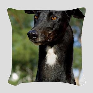 Greyhound 9R022-146 Woven Throw Pillow