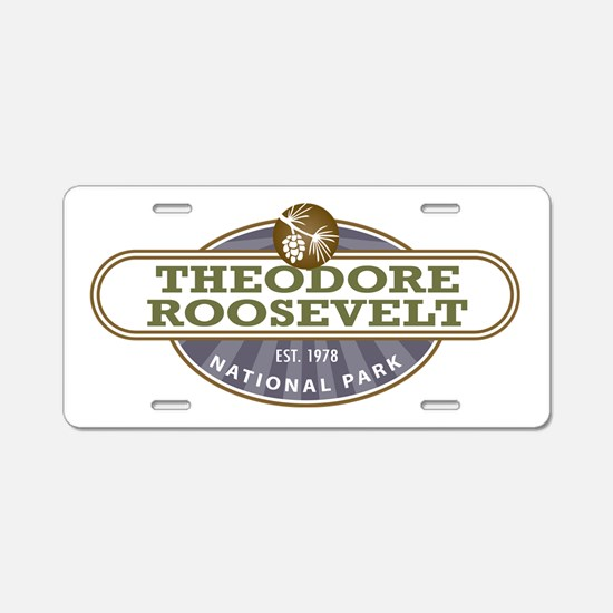 Theodore Roosevelt National Park Aluminum License
