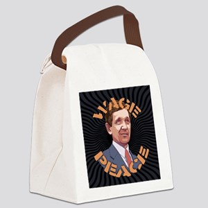 Kucinich-wage-peace-BUT Canvas Lunch Bag