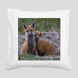 x10 Brothers and friends Square Canvas Pillow
