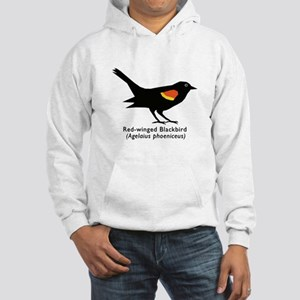 red-winged blackbird Hooded Sweatshirt