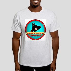Service Animal Trainer, Ash Grey T-Shirt