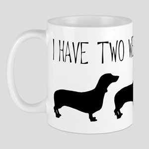 I Have Two Weenies Mug