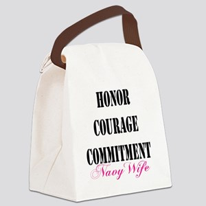 navyvalues Canvas Lunch Bag
